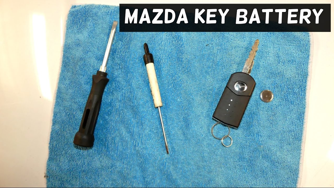 Mazda Remote Control Key Battery Replacement Cx 7 Mazda 3 Mazda 6 Mazda 5