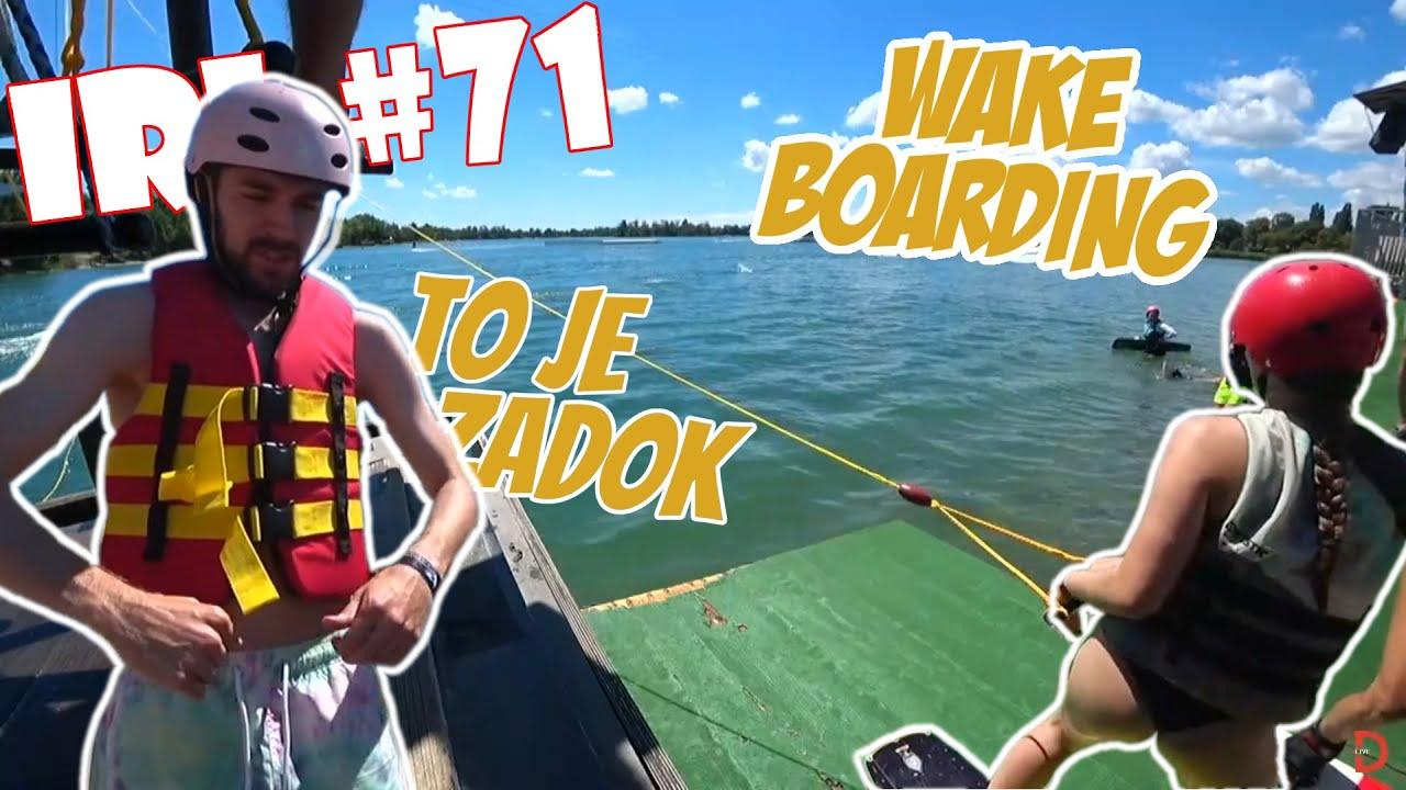 ツ DONATOLIVE - IRL #71| Donato a PEKNÝ ZADOK NA VITAMINWELL PARTY & WAKEBOARDING!