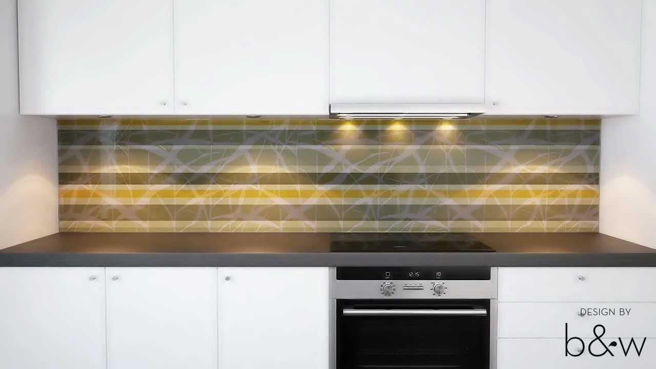 Montering av glaspanel från Bergman & Wrang -- klickfästen - YouTube : kakel byggmax : Inredning
