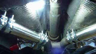 Installation de valves d'échappement sur Ford Mustang V8