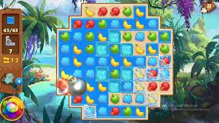 Tropical Forest Match 3 Story Level 70