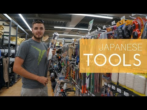 Visiting a Japanese Hardware Store!