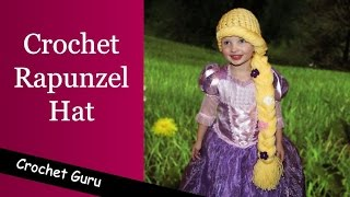 Crochet Rapunzel Hat Pattern - Crochet Hat Pattern