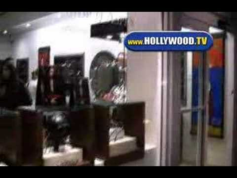 Joel Silver Shopping In Malibu
