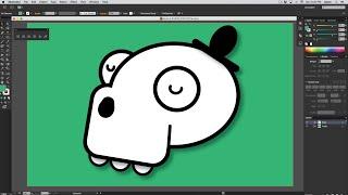 Tutorial Básico de Adobe Illustrator en Español. Para Principiantes - Dibujando a Pepe la Calavera