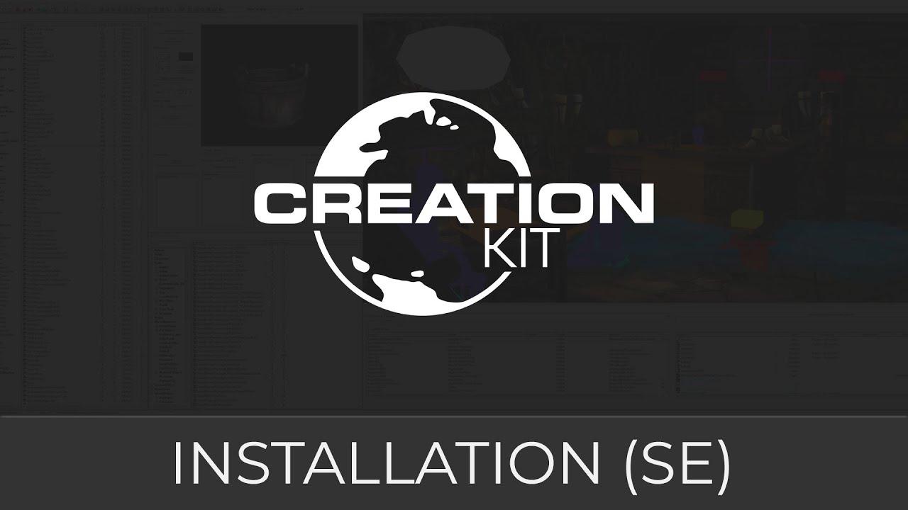 Creation Kit SE Tutorial Installation