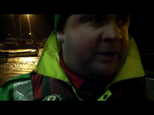 Pat McCarthy,HSE Ambulance describes the flooding in Youghal.