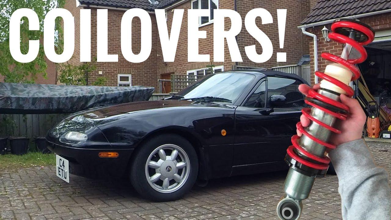 Lowering My MX5 - Coilover Install | Mazda MX5 Miata