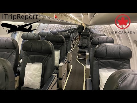 Air Canada Express CRJ900 Business Class Review