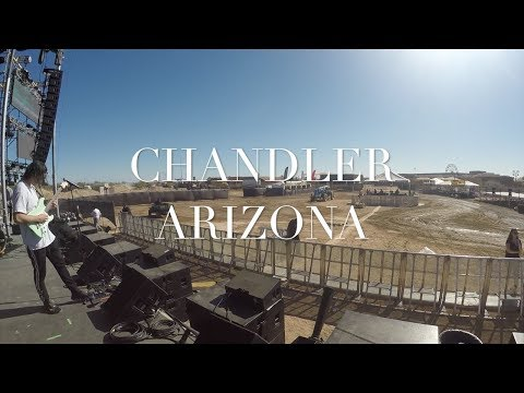 Monitor Engineer VLOG # 1 - Chandler Arizona - Festival Day