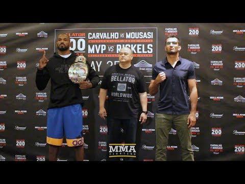 Bellator 200 Media Day Staredowns - MMA Fighting