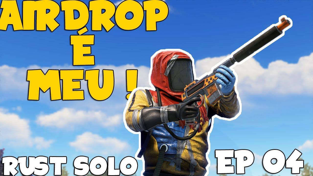 RUST SOLO BR  - O EXERCITO DE UM HOMEM SÓ EP 04
