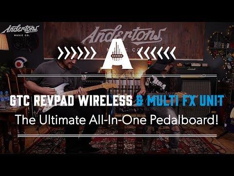 GTC Revpad Wireless & Multi FX Unit - The Ultimate All-In-One Pedalboard!