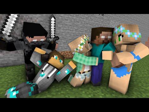 Diamond Man Life 1- 34 Minecraft Animations
