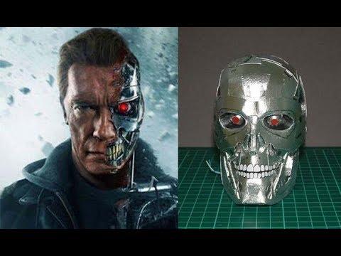 terminator | T800 | 3D papercraft  Terminator T800 Endoskeleton