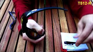 Очки маска Goggle T512R   обзор