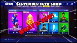 *NEW* Fortnite Item Shop countdown! September 16th item shop (New Skins) (Fortnite Battle Royal)
