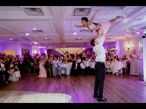 Dirty Dancing Final Dance w/ Lift - Stefania and Aaron Wedding Dance 4K