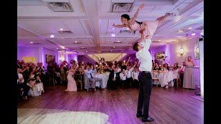 Dirty Dancing Final Dance w/ Lift - Stefania and Aaron Wedding Dance 4K