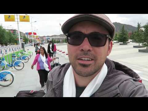 WELCOME TO LHASA TIBET - EXPLORING THE CITY - EP #025