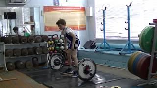 Шумихин Артур, 10 лет, св 28 3 Рывок 20 кгх2р 2 подхода