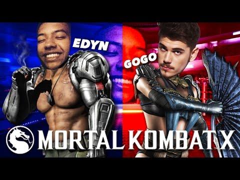 EPICKÝ SÚBOJ! - MORTAL KOMBAT │ GOGO VS. EDYN
