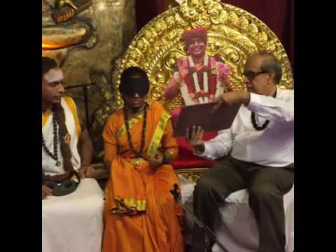 Third eye demonstration to rajiv malhotra