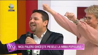 Teo Show (24.01.2020) - Nicu Paleru ghiceste piesele la mima populara! Cum s-a descurcat?