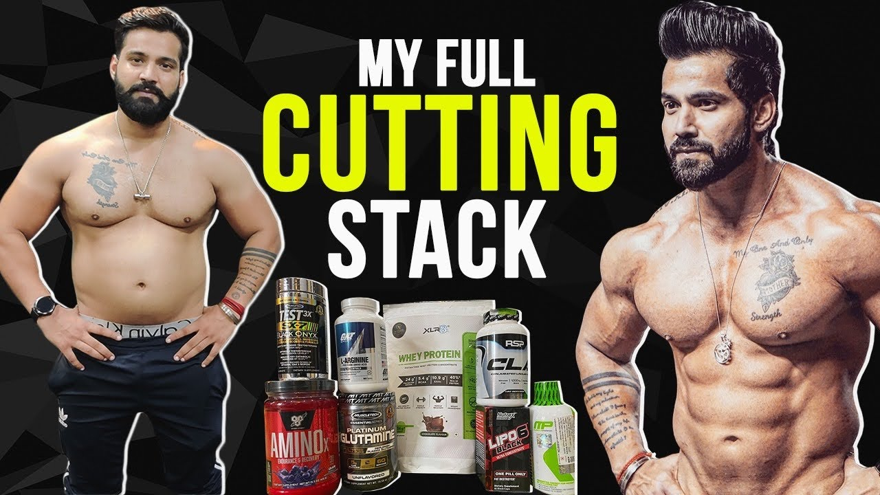 My CUTTING Supplement Stack|| Best Supplement Stack For Fatloss and Muscle Gain