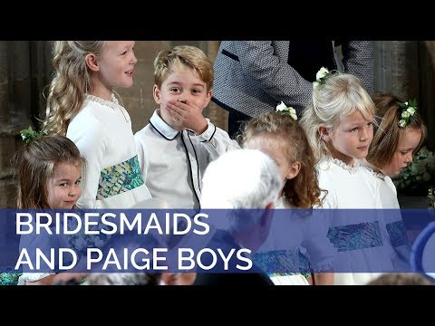 The Royal Wedding: The Bridesmaids and Page Boys have arrived