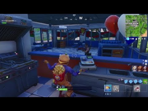Durr Burger Trolling In Fortnite: Battle Royale