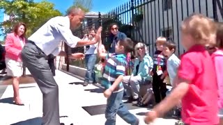 President Obama Surprises Some Kids
