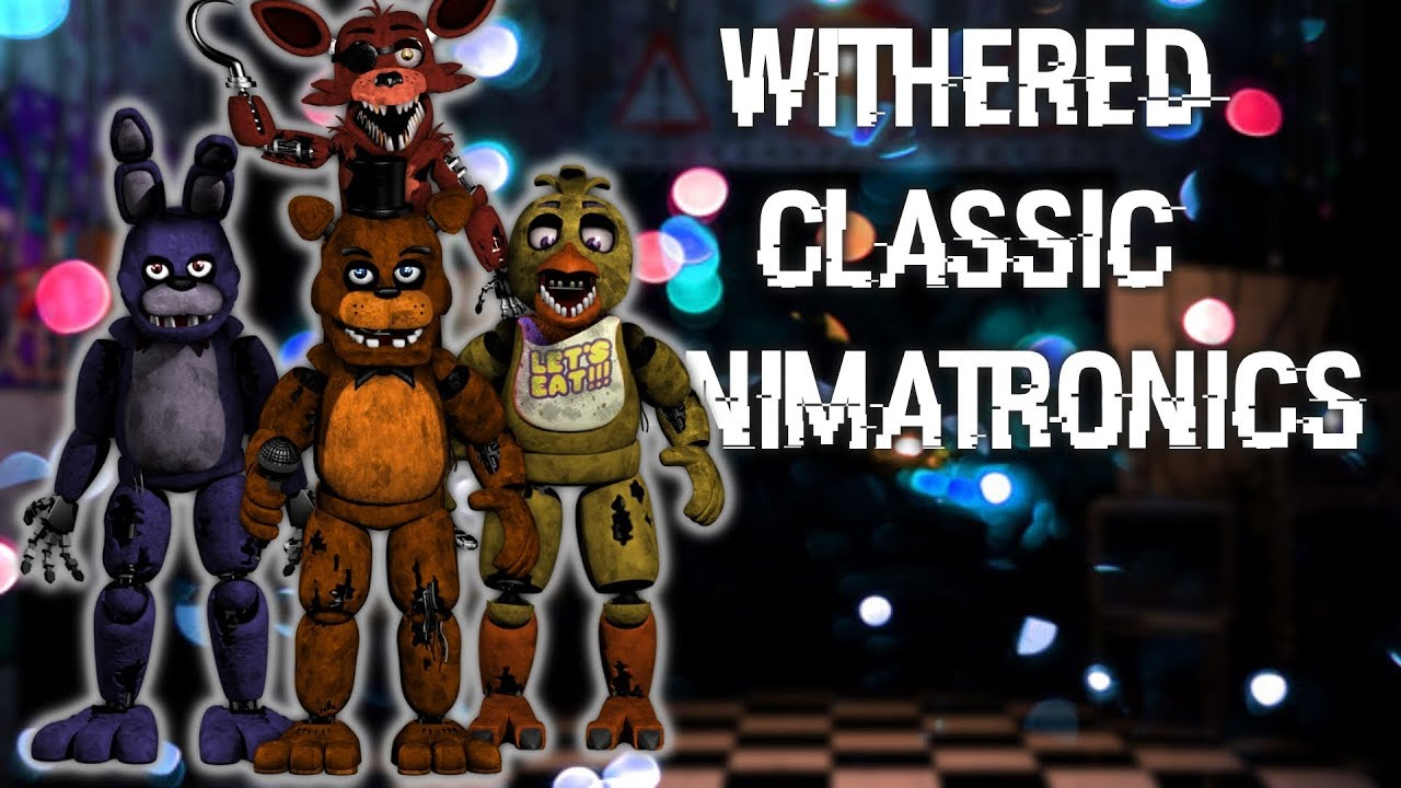 [FNAF | Speed Edit] Making Withered Classic Animatronics