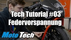 MotoTech Tutorial #03 - Fahrwerk | Federvorspannung