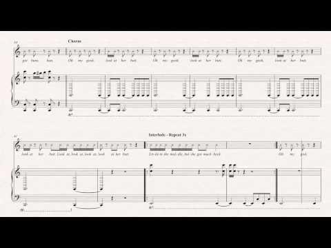 Violin - Anaconda - Nicki Minaj Sheet Music, Chords, & Vocals