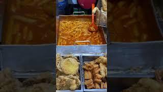 korean food 복조리시장 마늘떡볶이