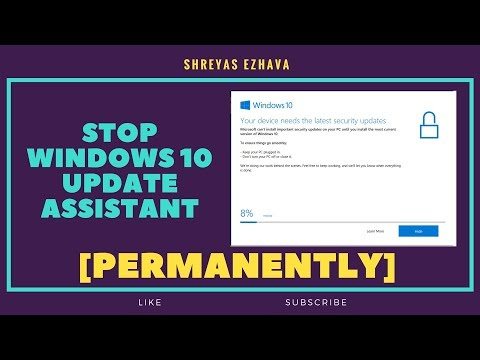 How to disable pop up windows 10 update