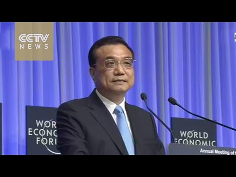 Premier Li Keqiang Davos speech: China maintains stable relations with EU and UK