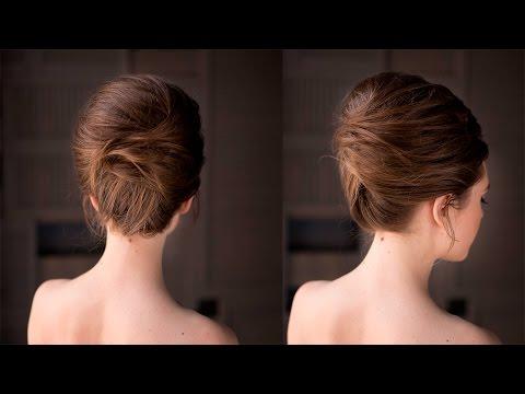 Высокая прическа на основе ракушки в стиле Бриджит Бордо. Brigitte Bardot Hair Tutorial