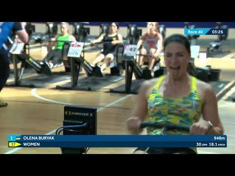 2020 World Rowing Indoor Championships -  Open Women's 2000m Race - W,LW