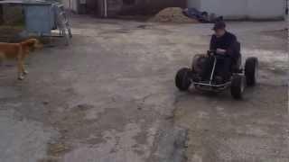 Karting avec un moteur de 50