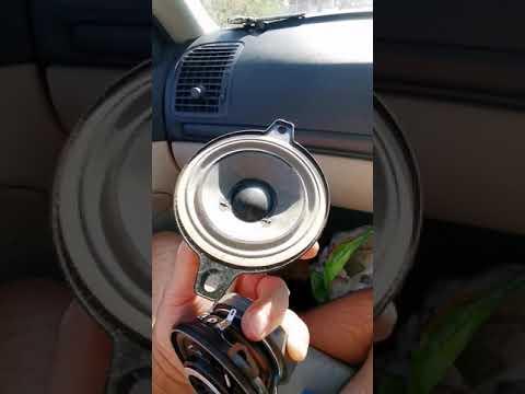 Upgrade Speakers Front 2 Way 10cm. Saab 9-3 2.0t 2004.