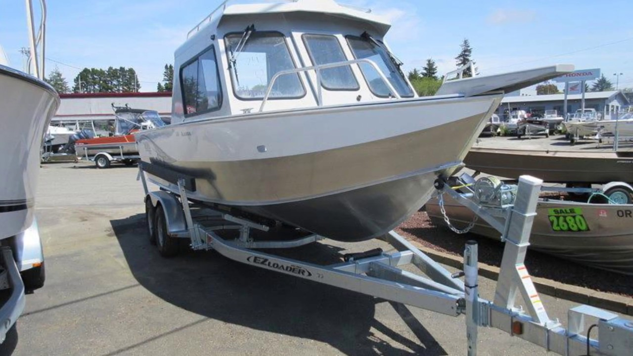 New 2015 Hewescraft Alaskan 240 ET Boat For Sale near Portland and Eugene,  OR, & Olympia, WA!