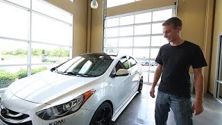 Justin Kelly s MODDED 2013 Hyundai Elantra GT смотреть
