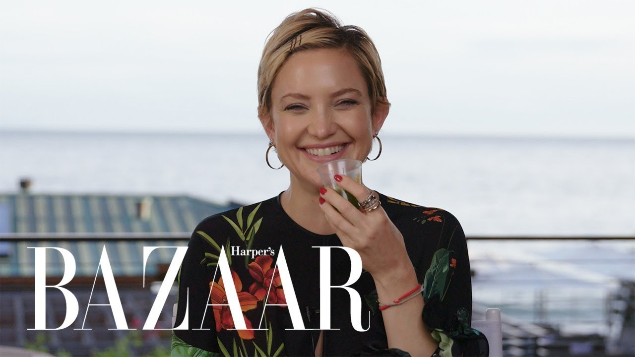 Pregnant Kate Hudson Spills All In Never Have I Ever | Harper's BAZAAR