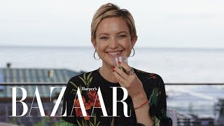 Kate Hudson Spills All In Never Have I Ever | Harper's BAZAAR