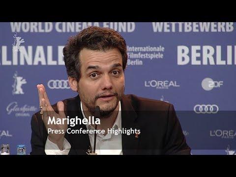 Marighella   Press Conference Highlights   Berlinale 2019