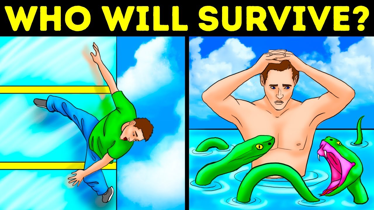 Increase Your IQ By 20% With These 20 Survival Riddles And Crime Puzzles