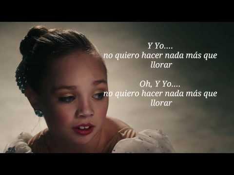 Alexx Calise - Cry - (Dance moms Maddie's Solo) Sub español~