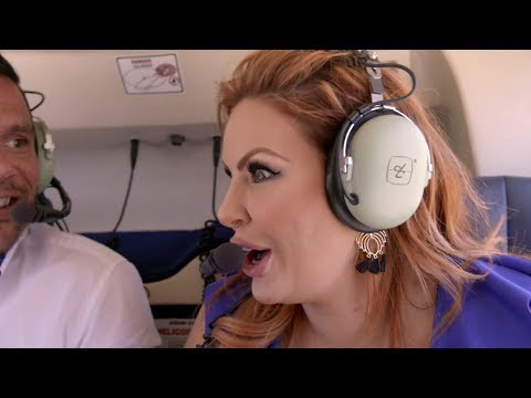 Telv takes Sarah to enjoy a romantic helicopter ride | Married at First Sight Australia 2018